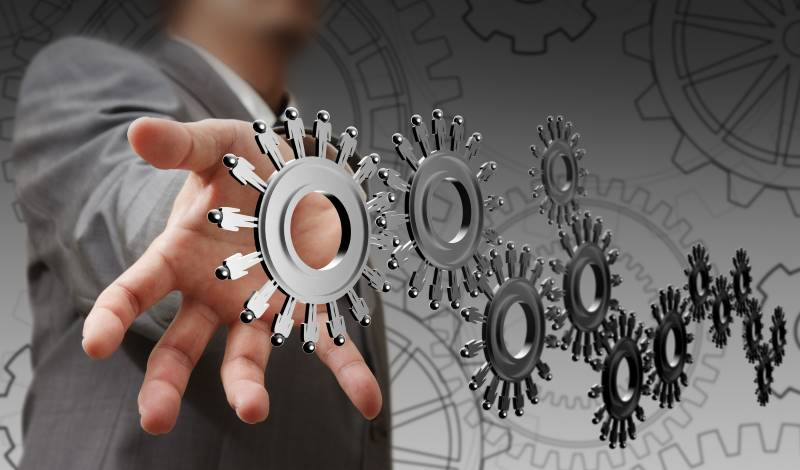 resources that make a business run cogs on a wheel