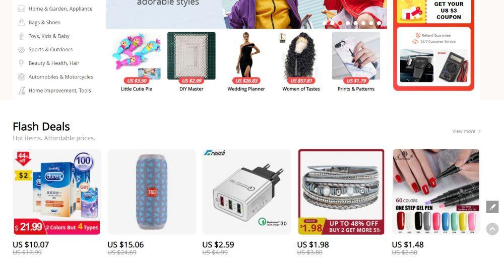 articoli in vendita su dropship da AliExpress