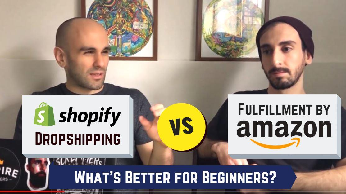 shopify dropshipping vs amazon fba