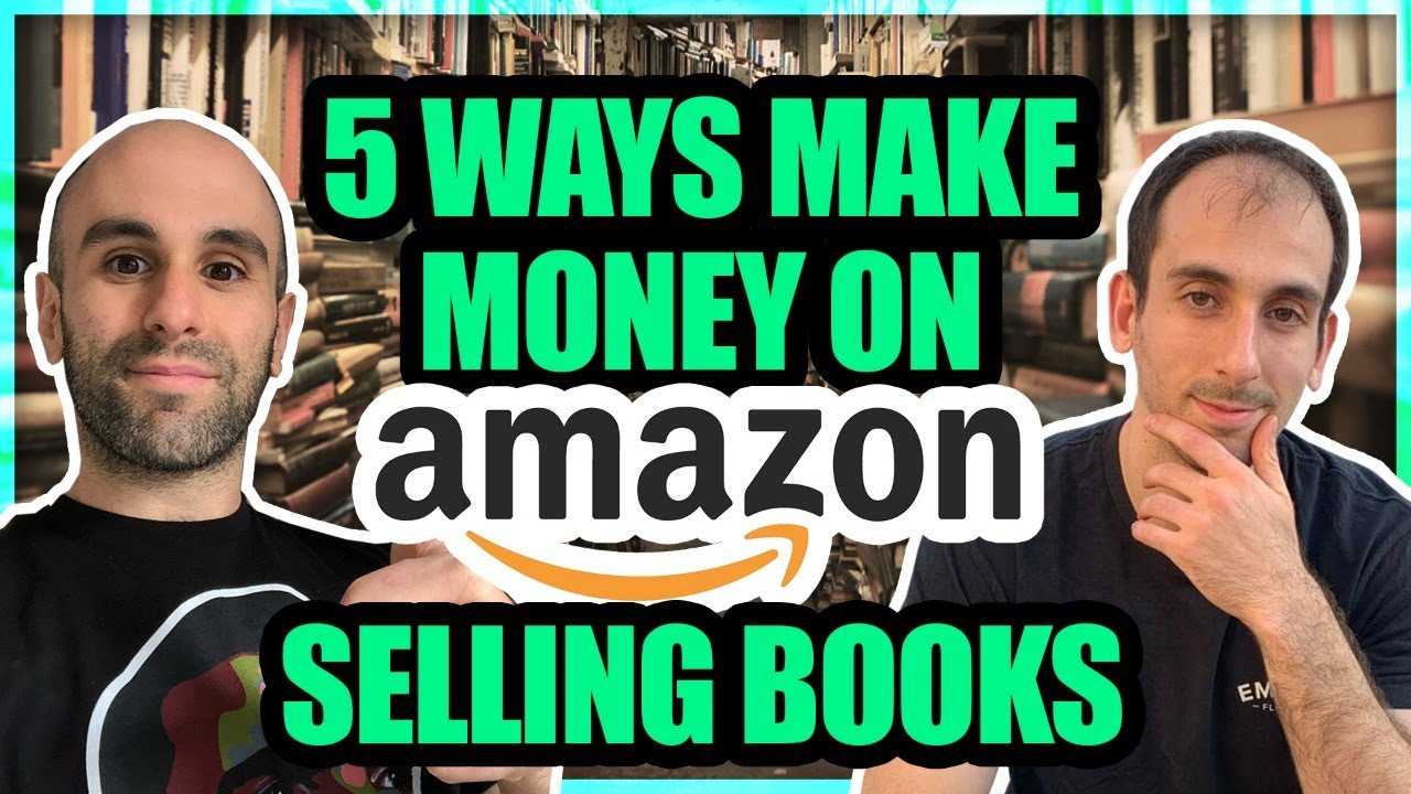5 Way to Make Money on Amazon Selling Books