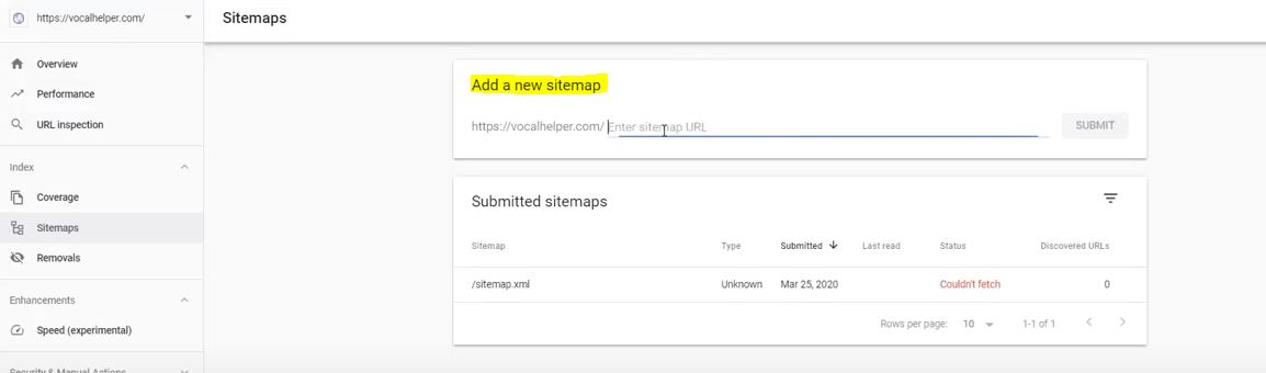 Building an Affiliate Site Tip: Adding a New Sitemap